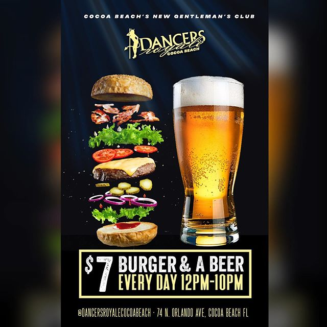 $7 Burger and Beer EVERY DAY